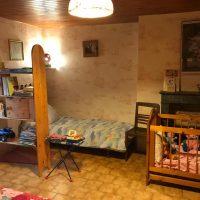 Chambre côté enfants avec lit bébé